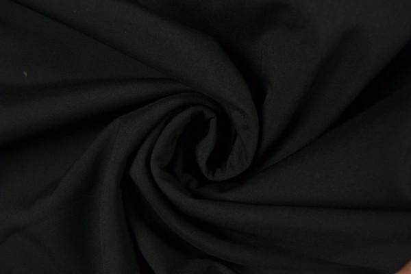Softshell Stoff uni, schwarz/ grau