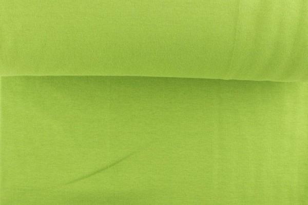 Bündchenstoff glatt, grün/schilf