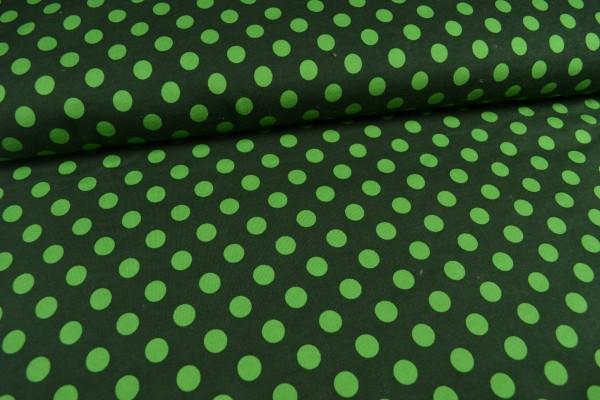 Sweatshirt Tupfen angeraut, grün