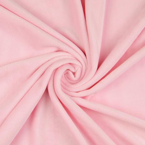 Nicki Fleece uni, rosa