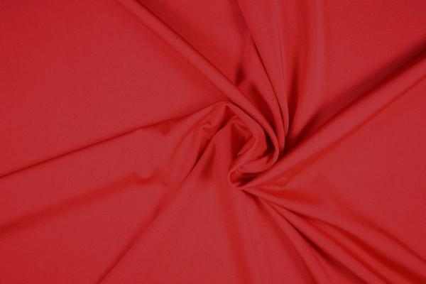 Badeanzugstoff uni, rot