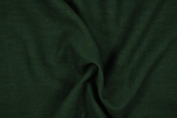 Leinenstoff Ramie gewaschen , tannengrün