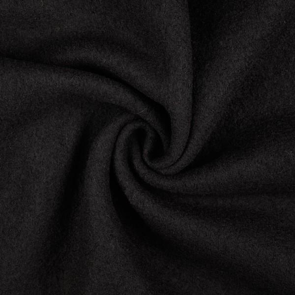 Walkloden, schwarz